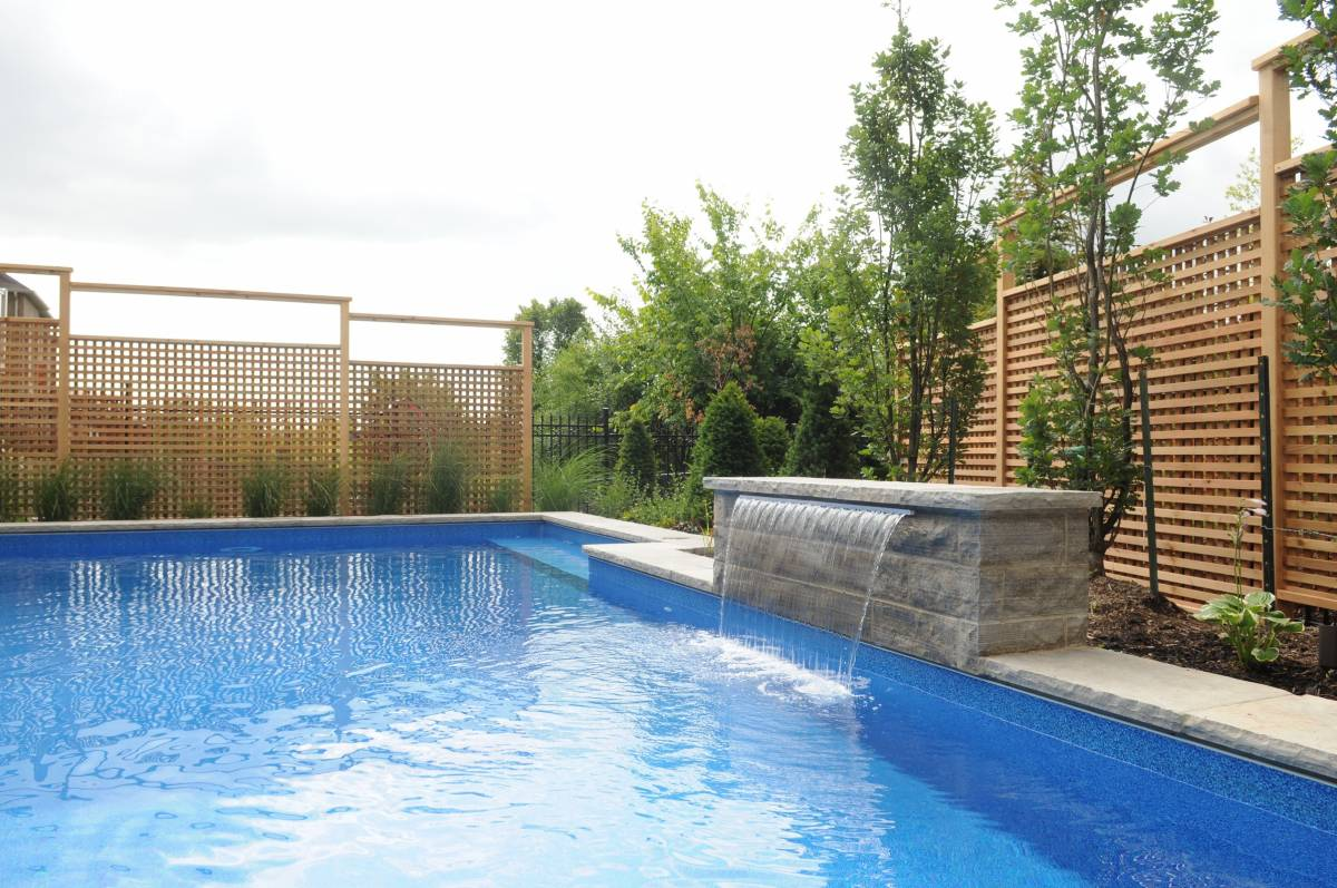 Oakville ontario project polar pools landscapes - Swimming pools in hamilton ontario ...